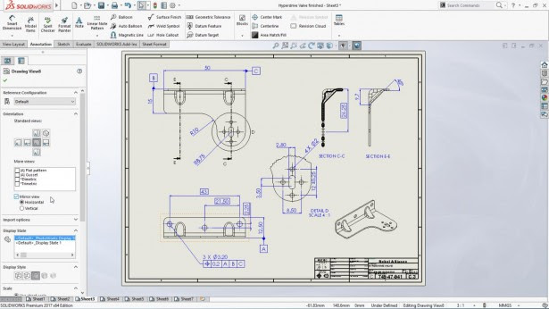 solidworks mirror view