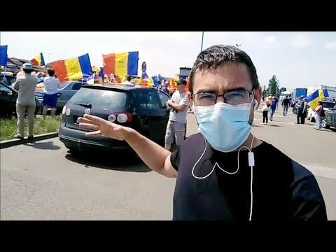 VIDEO Am fost la protestul de la Rădăuți, la fabricile Holzindustrie Schweighofer și EGGER