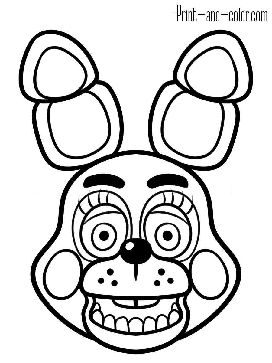 7600 Fnaf Coloring Book Online Best HD