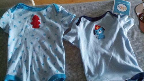 Embellished onesies