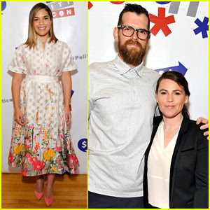 America Ferrera & 'Veep' Stars Attend Politicon Day 2