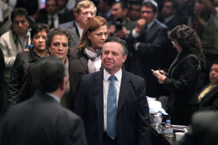 Eduardo Medina Mora, extitular de la PGR. Foto: Benjamin Flores