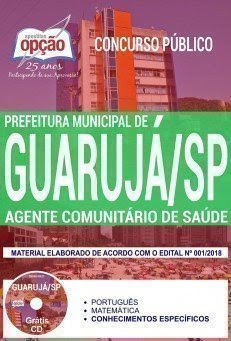 Apostila Concurso Prefeitura de Guarujá 2018   AGENTE COMUNITÁRIO DE SAÚDE