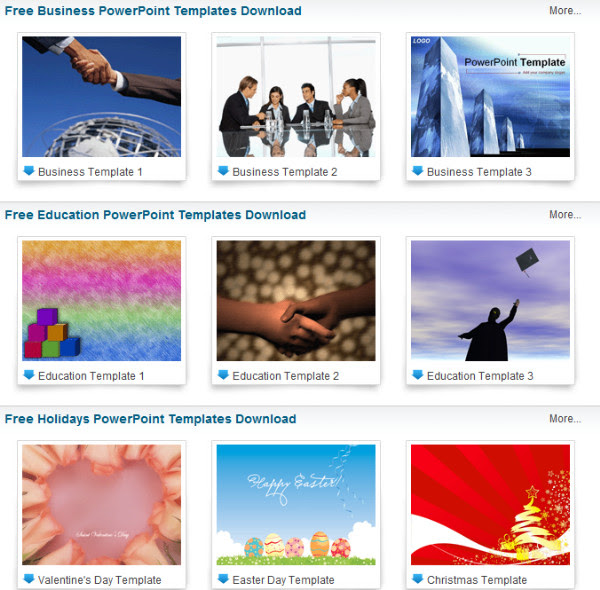 http://www.dvd-ppt-slideshow.com/powerpoint-knowledge/powerpoint-templates.html