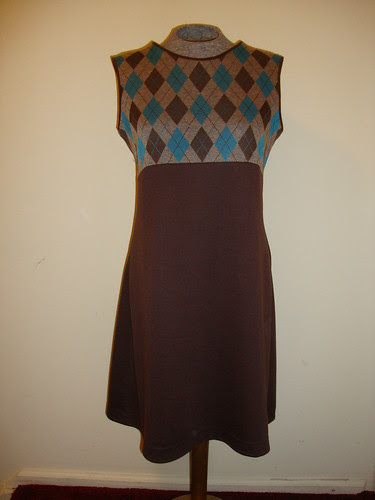 dress on dressform