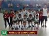 Divulgada tabela provísória do Metropolitano de futsal – menores nas Séries Ouro e Prata