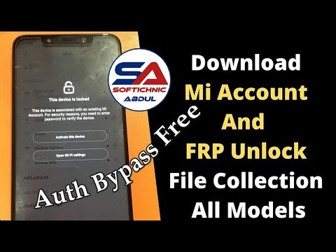 Auth bypass tool   MCT MTK Bypass Tool   Libusb mi account unlock by softichnic