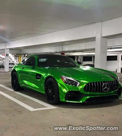 Mercedes AMG GT spotted in Tysons Corner, Virginia on 03 ...