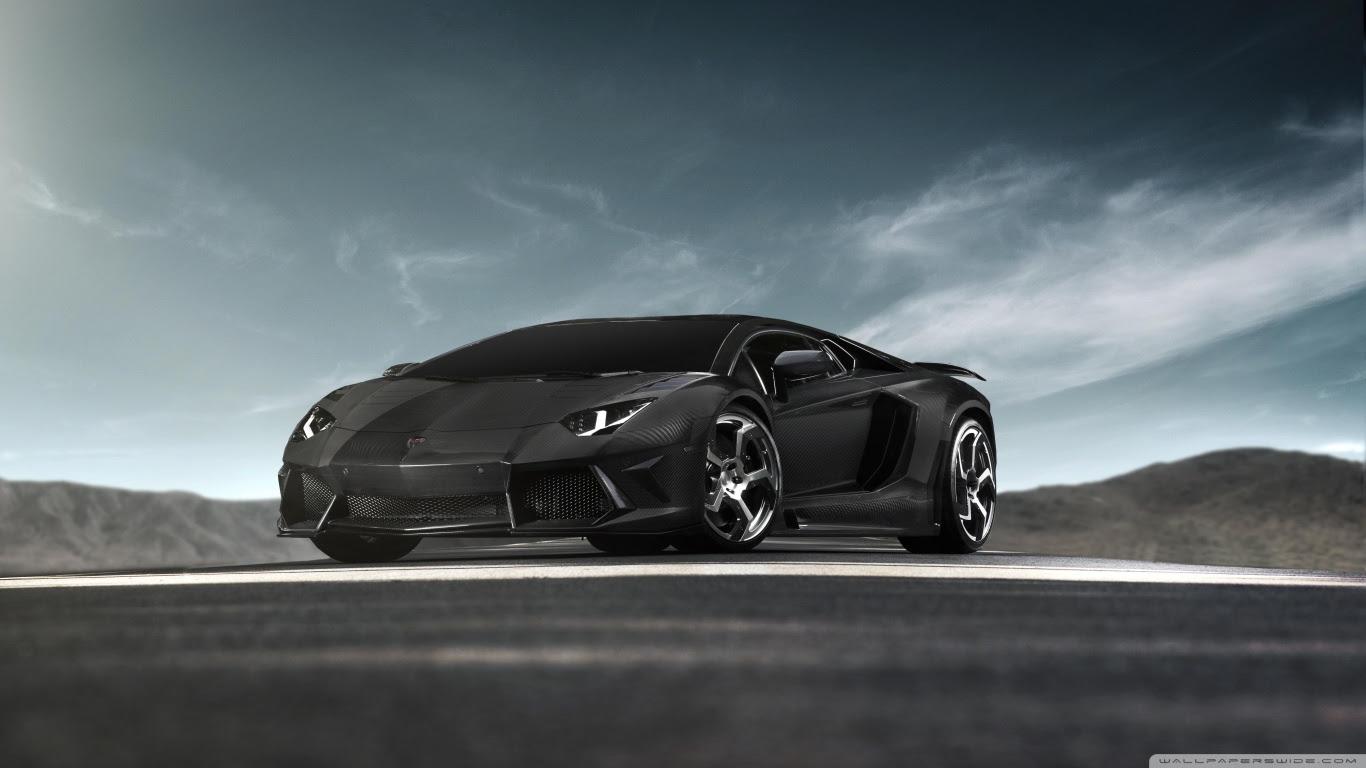 Lamborghini Aventador Black Hd Wallpaper All In One Wallpapers