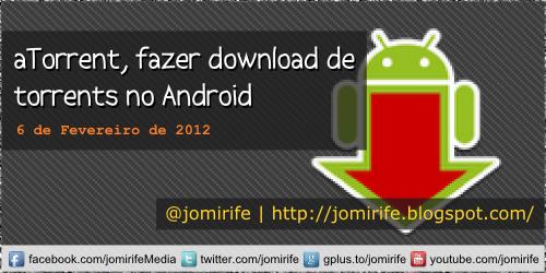 Blog: aTorrent, download de torrents no Android