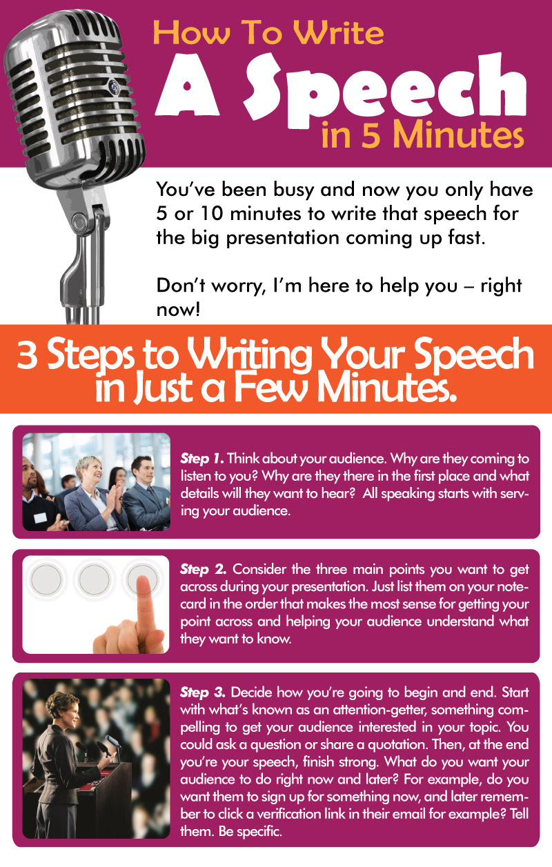 how to write a 5 page essay speech