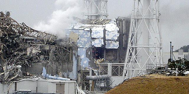 Imagen del estado del reactor número 4. | Reuters