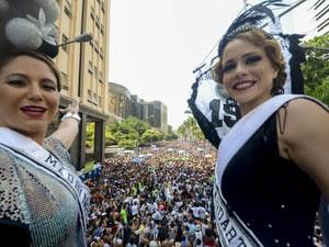 Cordão da Bola Preta leva milhares às ruas (Foto: Marcelo Fonseca)