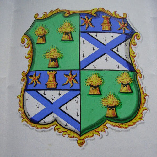 Confirmation of arms to Alexander Dunsmure
