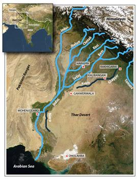 Harappan Rivers