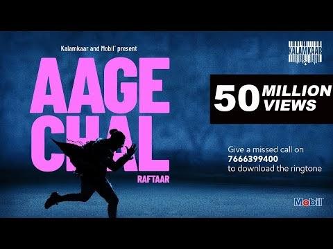 Aage Chal - Raftaar Lyrics in English और हिंदी में : Raftaar