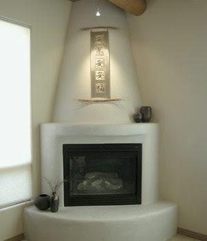Corner Fireplaces Corner Spanish Fireplaces
