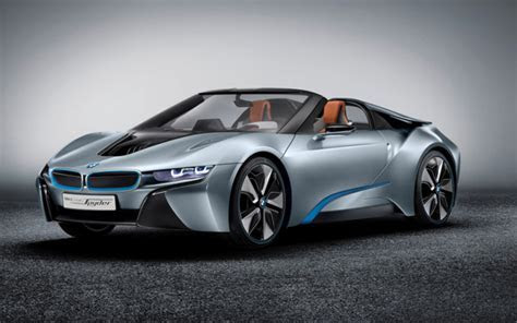 BMW's Electric Range Grows With 2015 BMW i8 Concept Spyder Clean fuel connection news