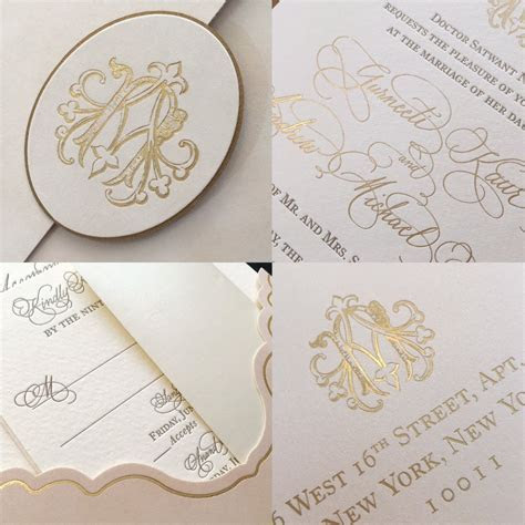 Spot Uv Foiling And Embossing Wedding Cards   Printing
