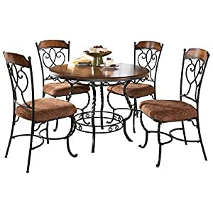 Amazon.com  Round Dining Room Table Set  Table \u0026 Chair Sets