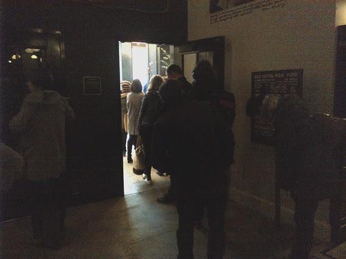 Ordering line at Stumptown