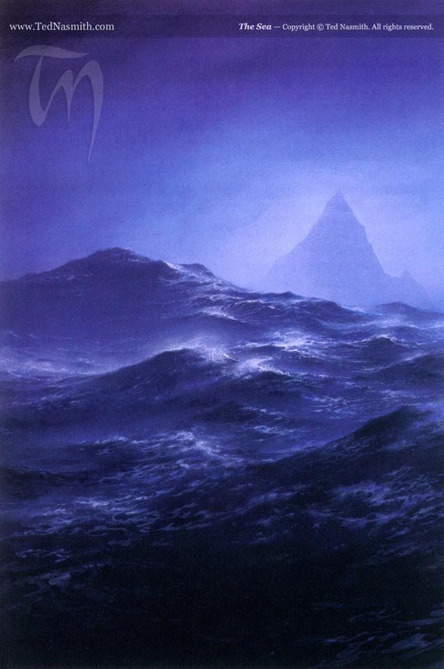 The Sea by Ted Nasmith