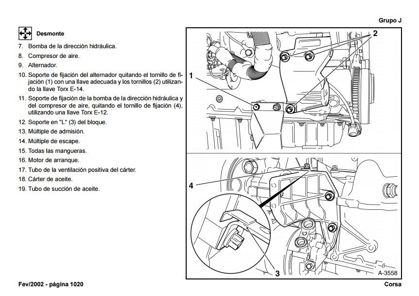 encontr u00e1 manual  manual de taller chevrolet montana