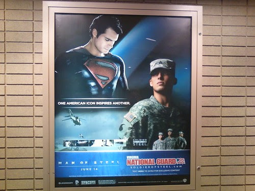 Man of Steel - National Guard ad 1