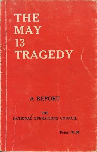 Laporan Tragedi 13 Mei oleh MAGERAN
