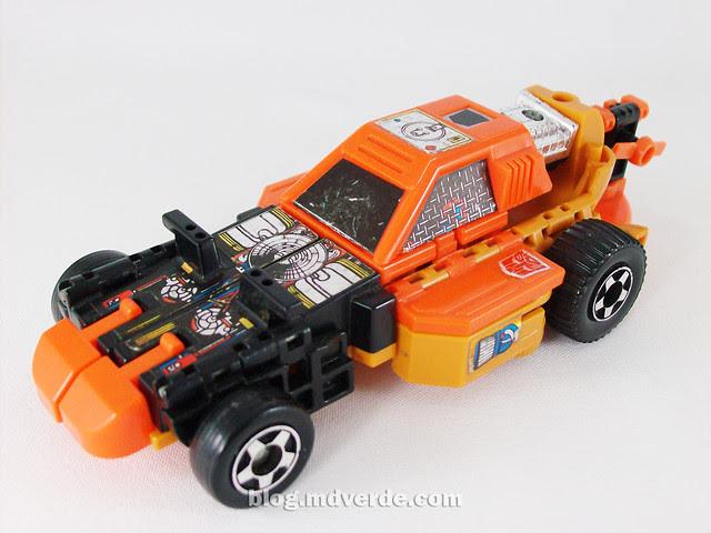 Transformers Sandstorm G1 - modo boogie