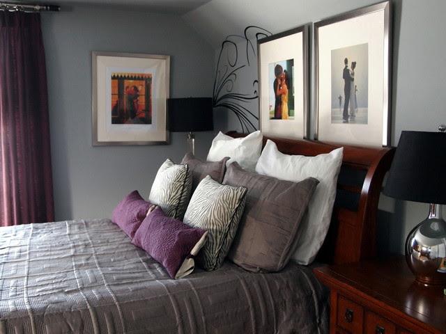 A Mans Master Bedroom - Contemporary - Bedroom ...