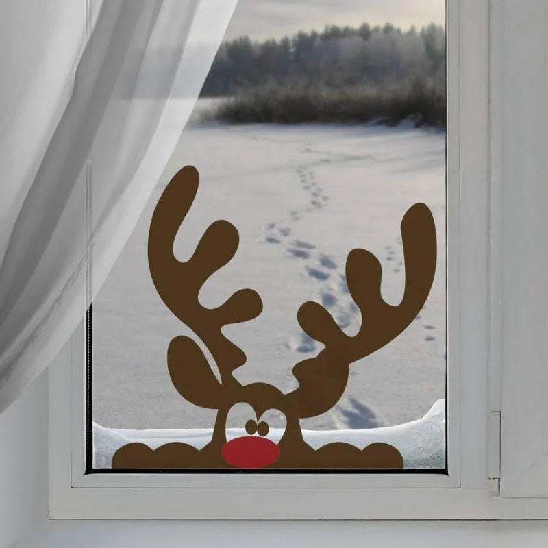 malvorlage fensterbild weihnachten