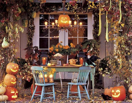 Halloween Entryways Ideas | Interior Decorating Tips