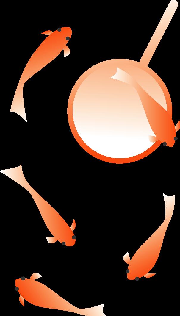 金魚すくい イラスト素材 縁日金魚すくい イラスト素材集出店