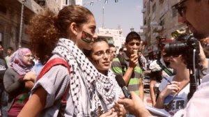 Jóvenes de Ramallah en favor del Estado palestino (Sept. 2011) (B.Siqueira)