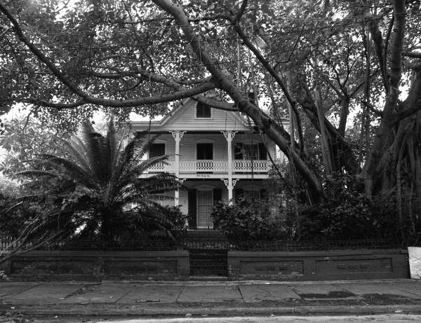 The William H. Gamble home on Whitehead Street, Key West, Florida.