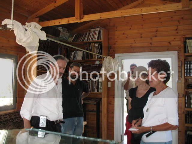 Admiring the Synagogue Avri Ran's Farm