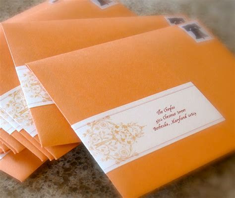 Mailing Your Wedding Invitations : Pomp Designs   pomp