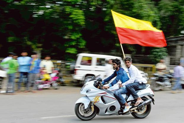 There's been a rise recently in Kannada-oriented subnationalism. Photo: AFP