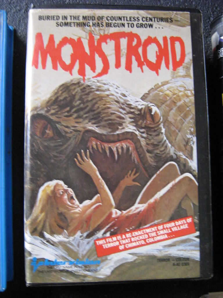 Monstroid (VHS Box Art)