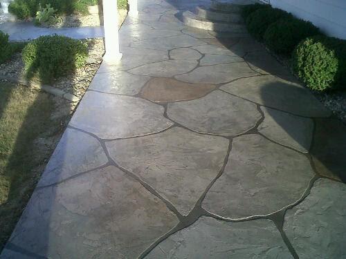 Patio Concrete Designs | Concrete Paint | Concrete Stain | Patio ...
