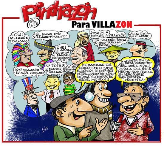 Pinchazón para Villazón - Dakar 2014