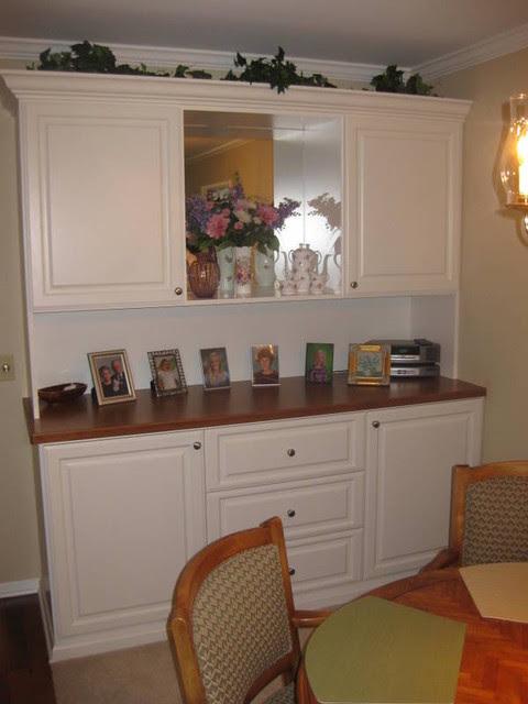 Wall Units - Traditional - Dining Room - santa barbara ...