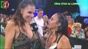 Olivia Ortiz sensual na festa de Verão da Tvi