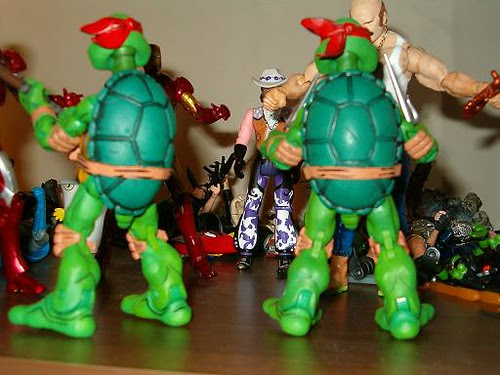 NECA TMNT // Ironman's TMNT 4-pack samples 5