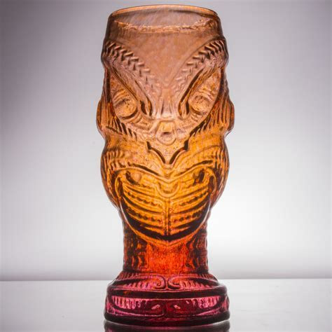 Handmade Head Hunter Glass Tiki Mug   $38   Andrew Iannazzi