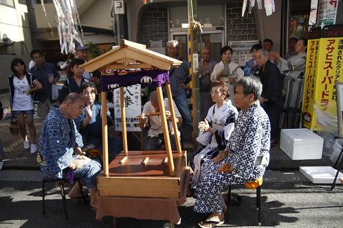 Some stuff happening at the Tanabata matsuri