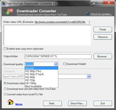 youtube downloader  converter energysharp