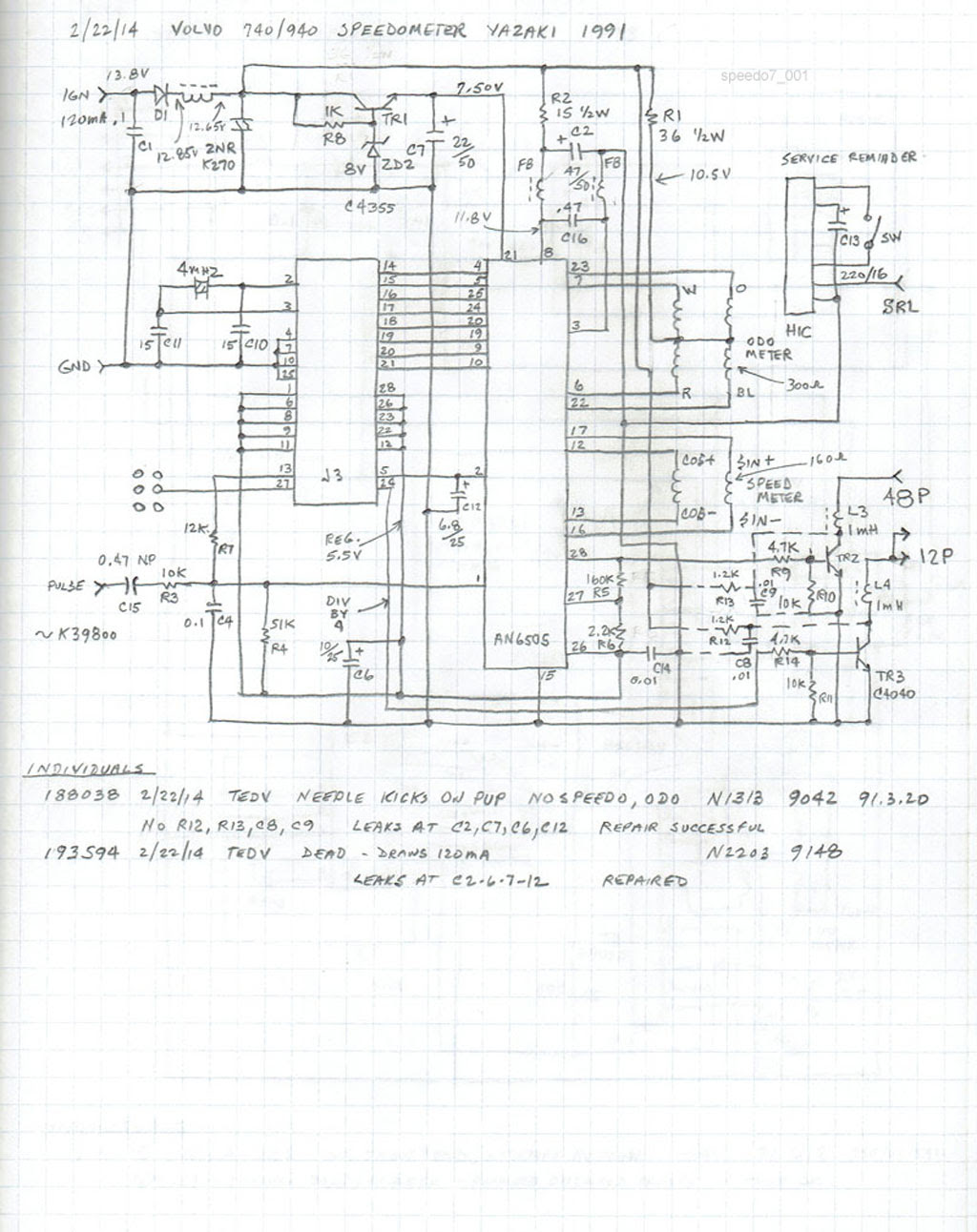 Volvo 740 Wiring Diagram 1991