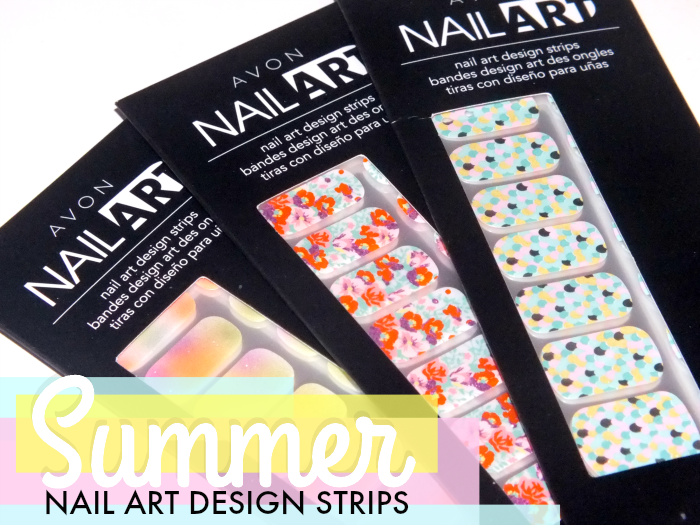 Avon nail art design strips summer 2014 i know all the for Avon nail decoration tool